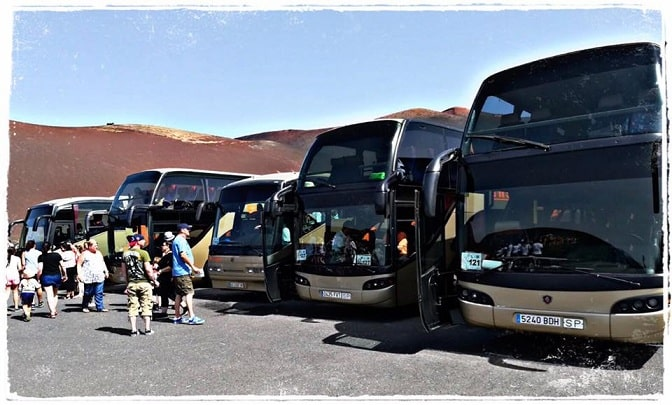 Buses First Minute Travel, Lanzarote