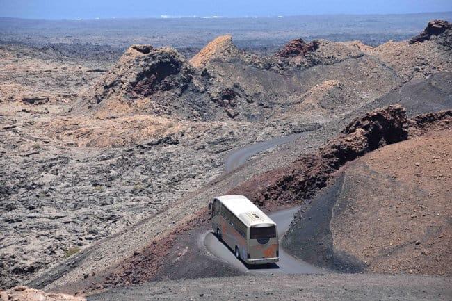 Ruta Parque Nacional de Timanfaya, Lanzarote en bus First Minute Travel
