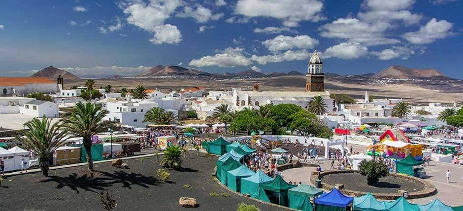 Fechas y lugares de los mercadillos de Lanzarote