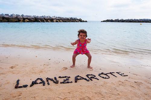 playas en Lanzarote para visitar con ninos