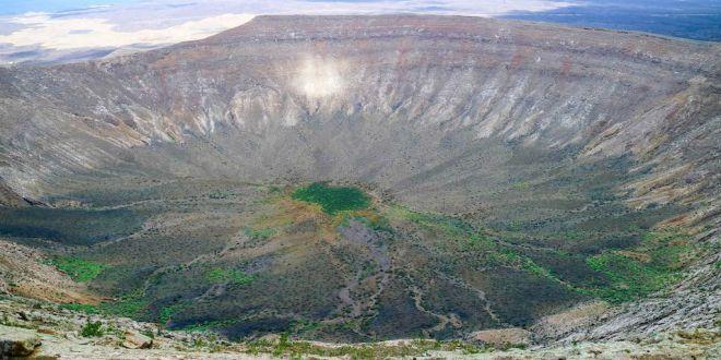 Volcan Caldera Blanca Lanzarote