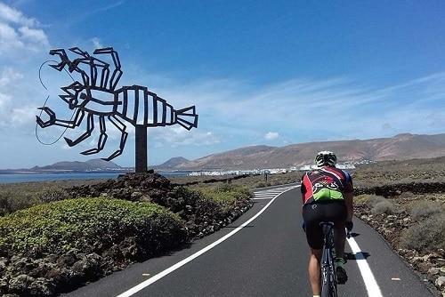 Rutas de bicicleta de montana en Lanzarote