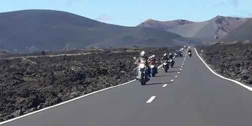 conducir motos en Lanzarote