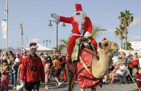 eventos de navidad para niños en Lanzarote