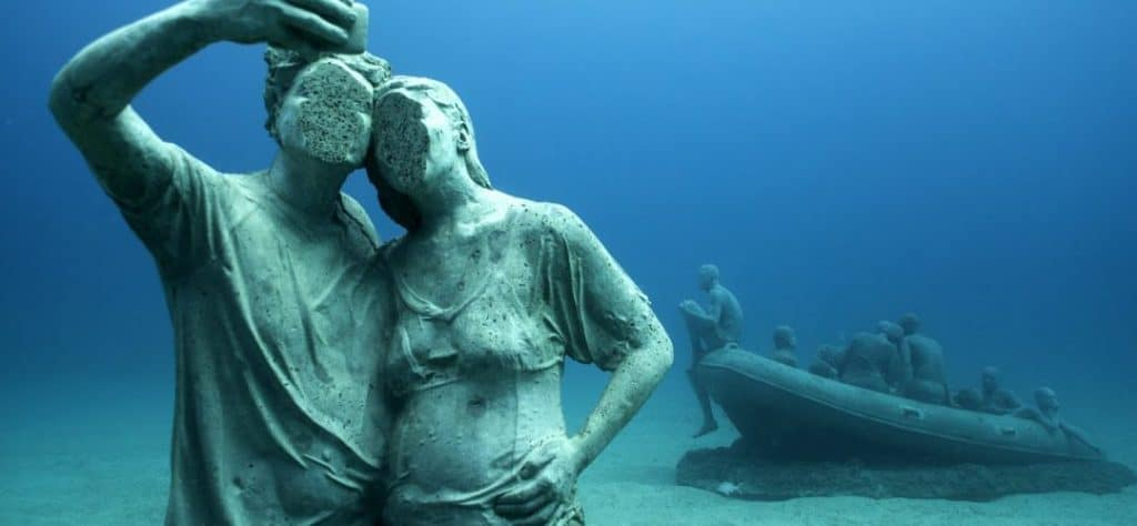 museo lanzarote bajo el agua