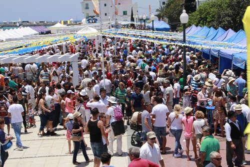 Como celebran en Lanzarote el dia de Canarias