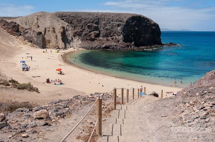 Playa Papagayo es la mejor de España